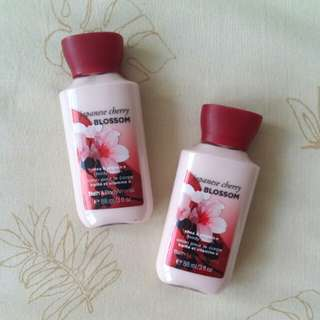 Japanese Cherry Blossom lotion (Travel size)