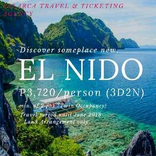 EL NIDO 3D2N