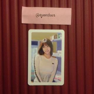 TWICE MERRY & HAPPY OFFICIAL MOMO PHOTOCARD / GREEN VER