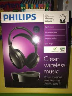 Philips wireless headphones SHD8600