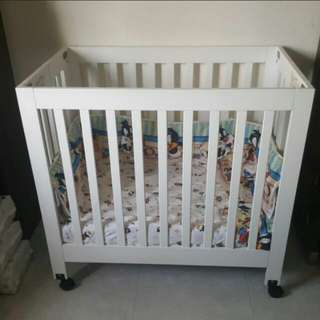 Luna Mini Baby Folding Cot