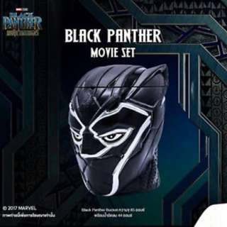 Marvel black panther popcorn bucket