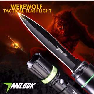Anlook Werewolf Tactical Survival Flashlight Tools*In-Stock*