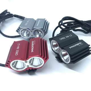 Cree Xm-l2 light 2000 lumens (silver left instock!)