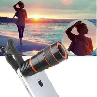 *New!* Universal 8X Optical Zoom Telescope Camera Lens