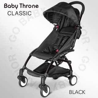 BABY THRONE CLASSIC BLACK FRAME - BLACK