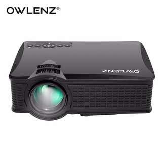 Mini LCD Projector 1500 Lumens SD50 Home Theater Movie Multimedia Video HD Projectors Beamer HDMI USB AV