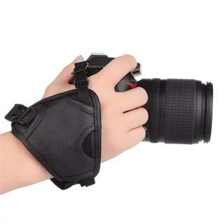 DSLR Camera Leather Grip Rapid Wrist Strap Soft Hand Grip Universal for Canon Nikon Sony Olympus