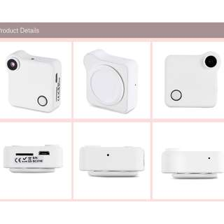 Mini Security Camera HD 720P WIFI Wearable IP Camera Motion Sensor Bike Body Micro Mini DV DVR Clip Voice Recorder