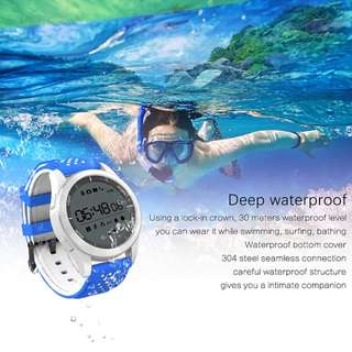 F3 Smart Watch IP68 Waterproof Sport Outdoor Watch SmartWatch Fitness Tracker Message Reminder for Android iPhone