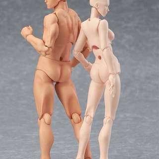 🚚 美術繪畫專用可動關節人體模型