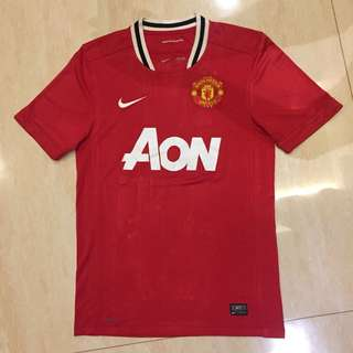 NIKE Manchester United 11/12 Home Jersey