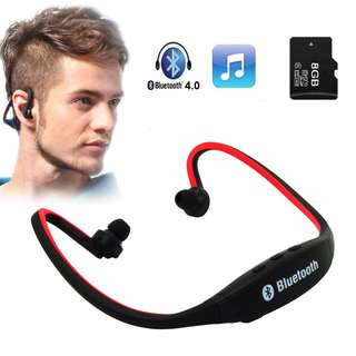High Quality Sport Wireless Bluetooth Earphone Headset Earbuds for Phone With Mic Earphone