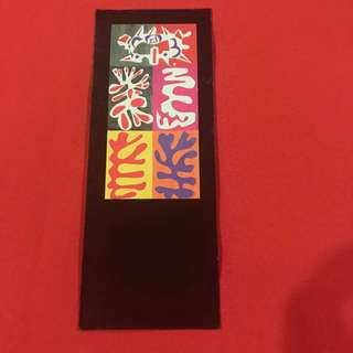 Matisse bookmark (heavy board)