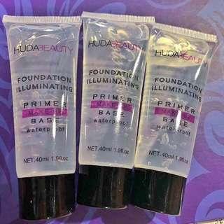 Huda Beauty Primer Foundation Illuminating MakeUp Base