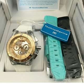 SALE!  Technomarine 40mm/ 3 straps