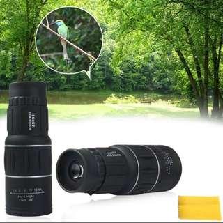 16 x 52 Dual Focus Monocular Telescope Zoom Optic Lens Binoculars Spotting scope Coating Lenses Dual Focus Optic Lens day vision