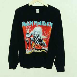 Sweater Iron maiden, Iron maiden second,  Crewnack music