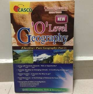 Elective Geography/Pure Geography Book 1 Guide Book