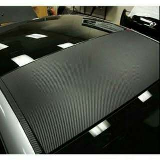 Carbon Fibre Vinyl Sticker