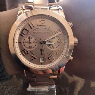 Brand New Michaels Kors Rose Gold Watch
