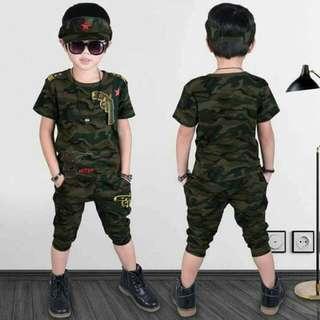 Army Kids Terno