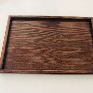 Wood tray / organizer