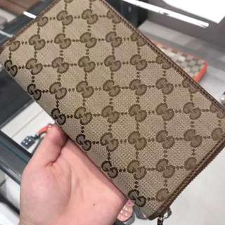 Authentic Gucci Tabacco Wallet