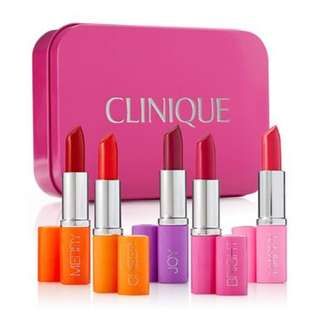 Clinique 5-Pc. Pick Your Party Lipstick