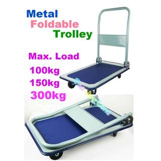 Foldable Trolley - 150 / 300 maximum load