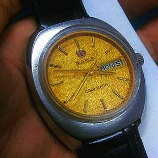 RADO VINTAGE AUTOMATIC LEATHER