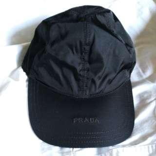 Prada Nylon Black Hat