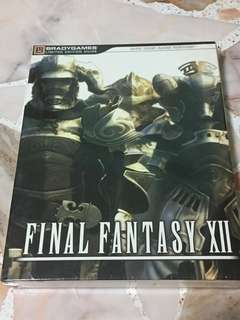Brand new limited edition Bradygames Final Fantasy XII 12 guide