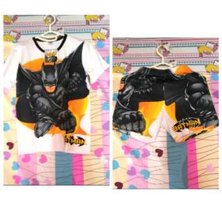 Batman Terno (8-9yrs.old kids)