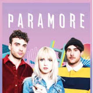 Paramore UB Ticket
