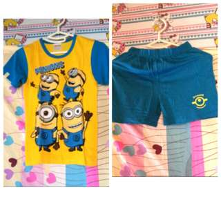 Despicable MINIONS (7-8yrs.old)