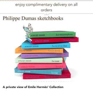 🆕Hermes – Sketches And Drawings By Philippe Dumas【只限順豐到付】