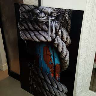 Acrylic Glass-Like Rope Picture