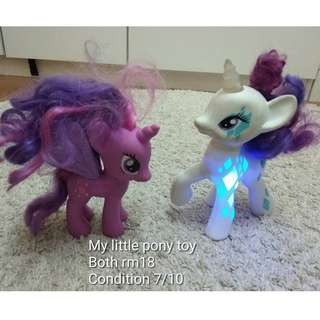 my little pony figure set