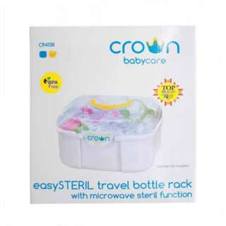 Crown easy steril travel bottle rack