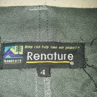 Renature hemp trousers