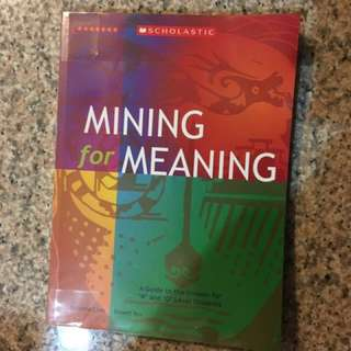 Mining for meaning upper secondary