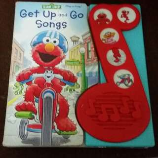 Sesame street get up and go songs