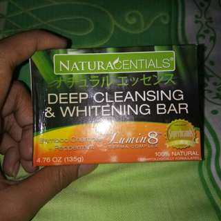 Deep cleansing & whitening soap