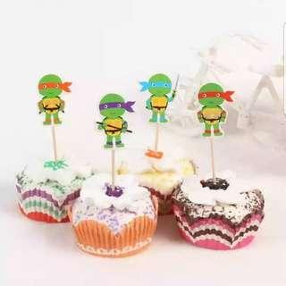 Ninja Turtle Cupcake Topper