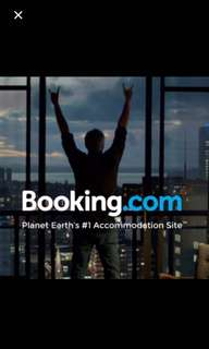 10% off in BOOKING.COM (No min spend, just follow the link)