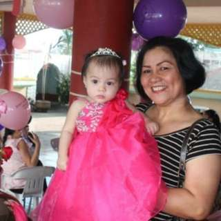 Gown for baby pink 500 nalang!