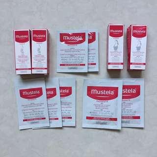 Mustela bust firming serum stretch marks prevention cream oil body firming gel sample