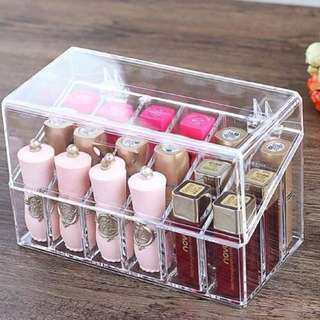 18slots lipstick holder with cover