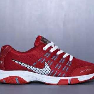 Sepatu Sport Nike Airmax Red